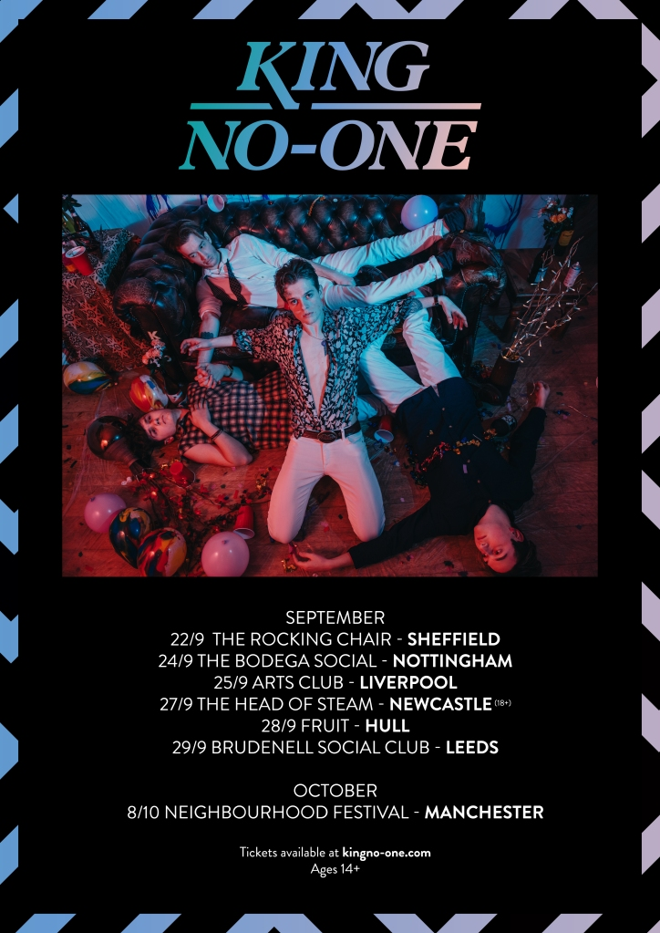 KING NO-ONE SEPTEMBER TOUR DATES